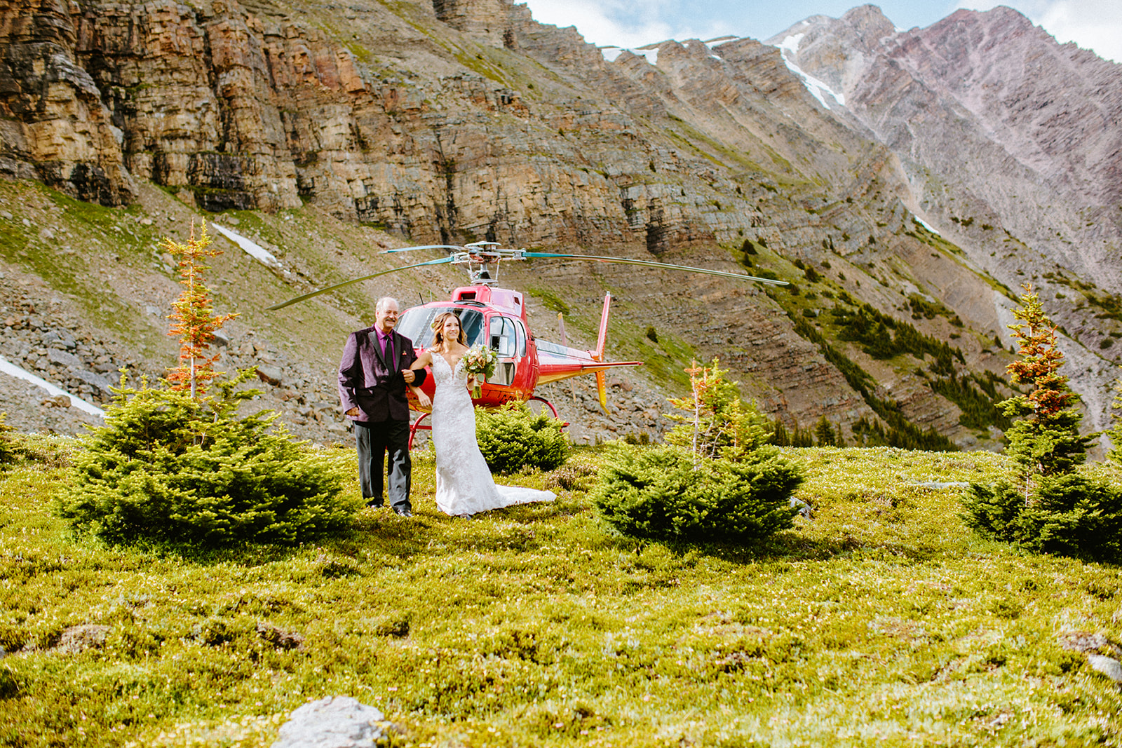 Karissa wearing the Tara Lauren Montgomery bridal gown